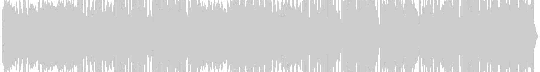 キャッチーなシンセメロが特徴のEDMの未再生の波形