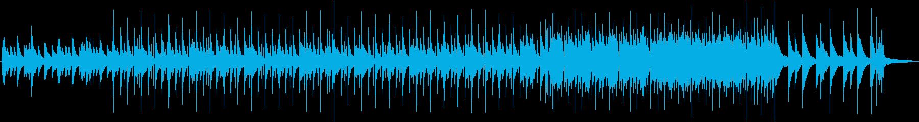 切ない和風ピアノメロとどっしりしたビートの再生済みの波形