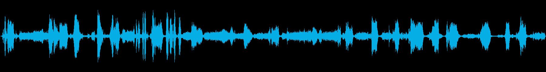 RADIO ACROSS BAND...の再生済みの波形