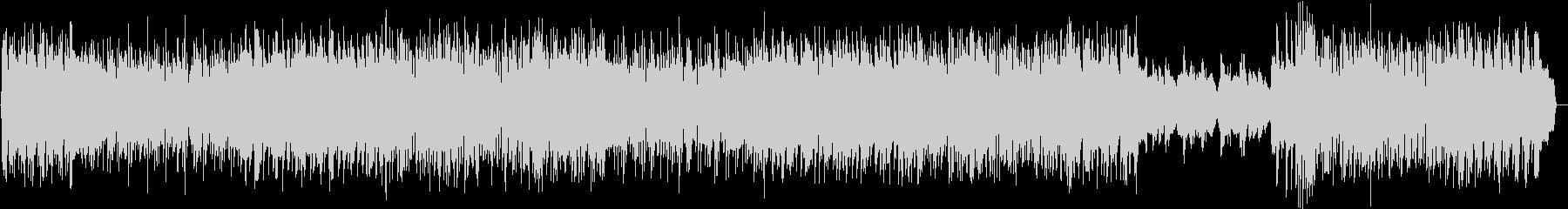 電波系アイドルポップ オタク向けアニソンの未再生の波形