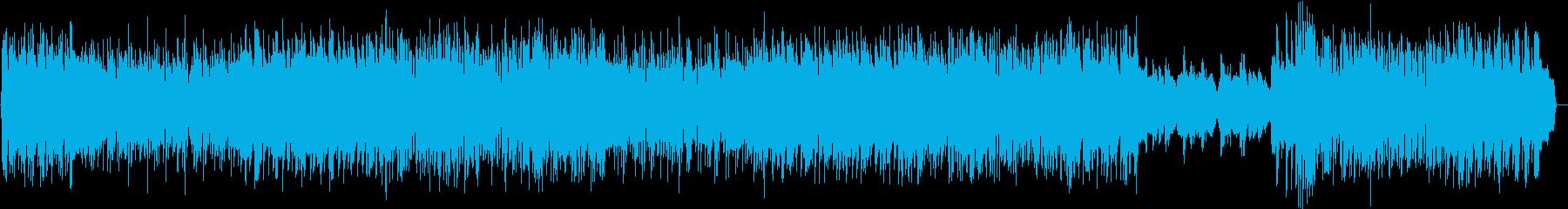 電波系アイドルポップ オタク向けアニソンの再生済みの波形