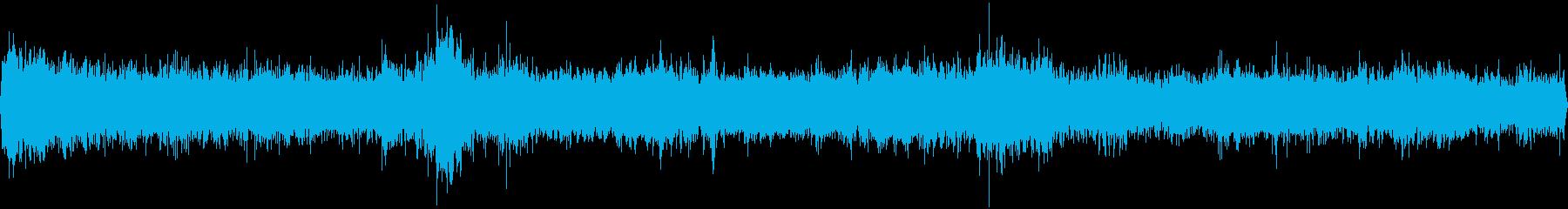 夜の繁華街(環境音)の再生済みの波形