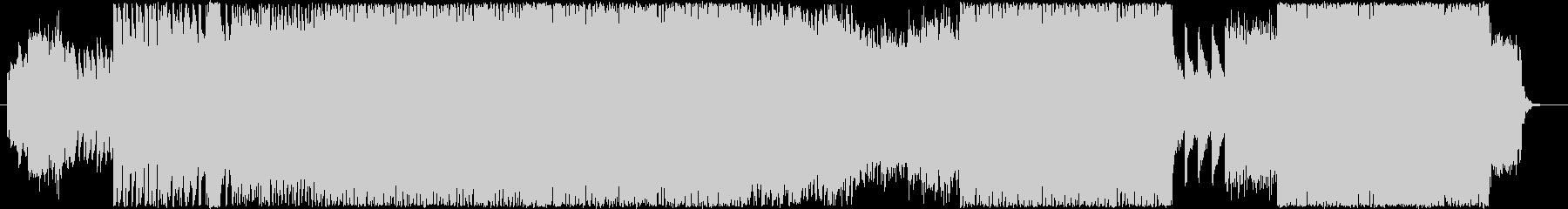 音ゲー風スピードコアの未再生の波形