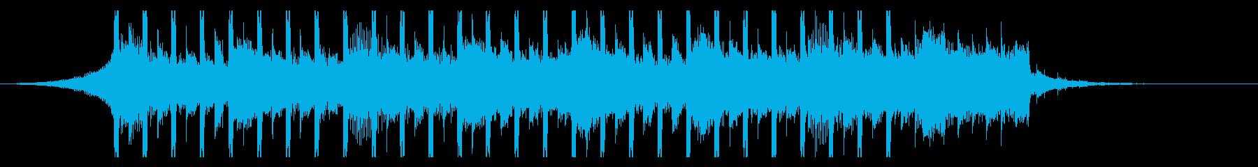 楽観的(ショート2)の再生済みの波形
