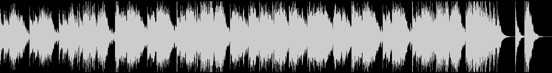 マリンバのメロディが軽快で楽しいインストの未再生の波形