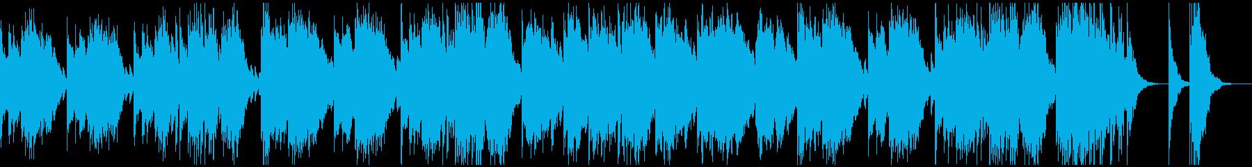 マリンバのメロディが軽快で楽しいインストの再生済みの波形