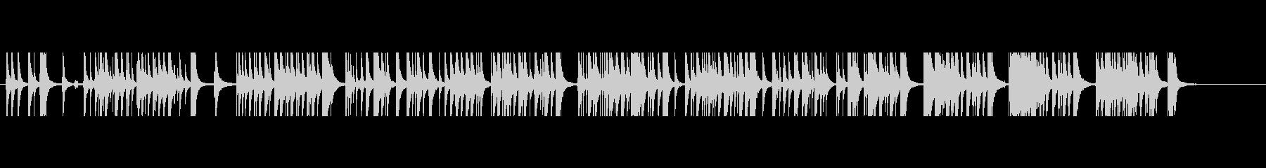 三味線33娘道成寺12日本式レビューショの未再生の波形