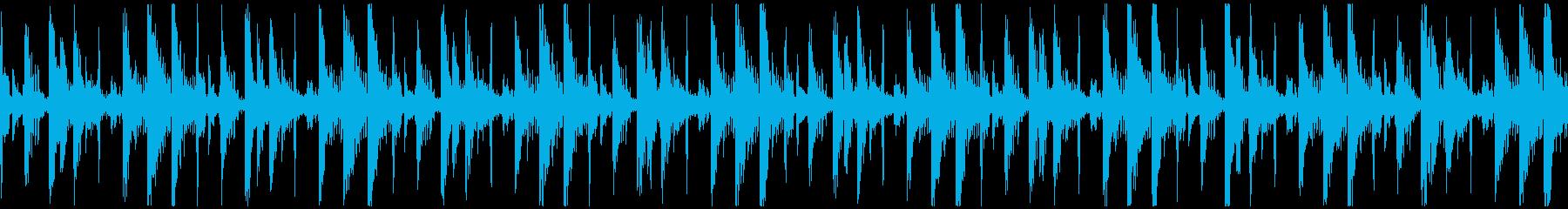 ループ[ニュース報道]無機質:10の再生済みの波形