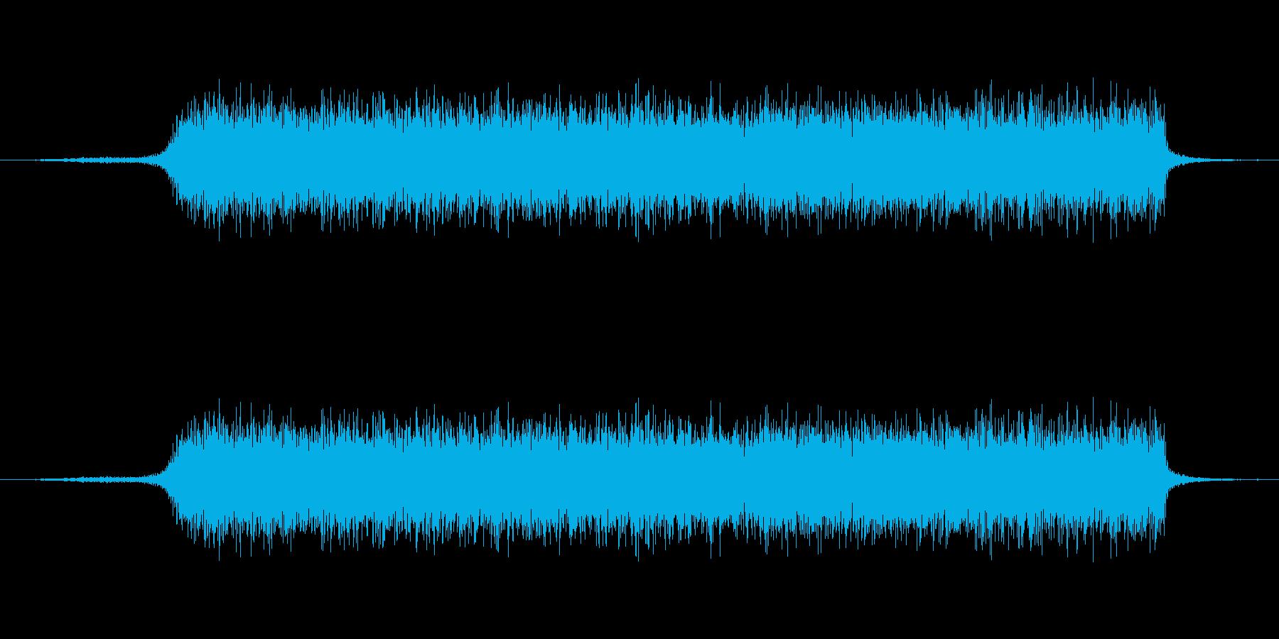 スプレーを噴射した時の音【生録音】の再生済みの波形