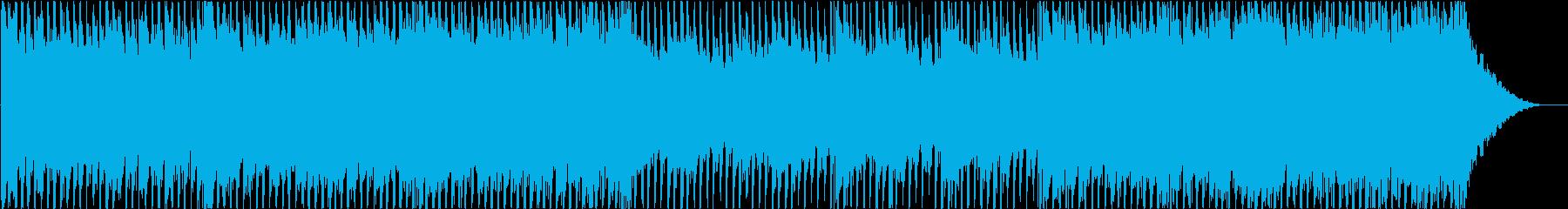 ポップ、ロック、コーポレートの再生済みの波形