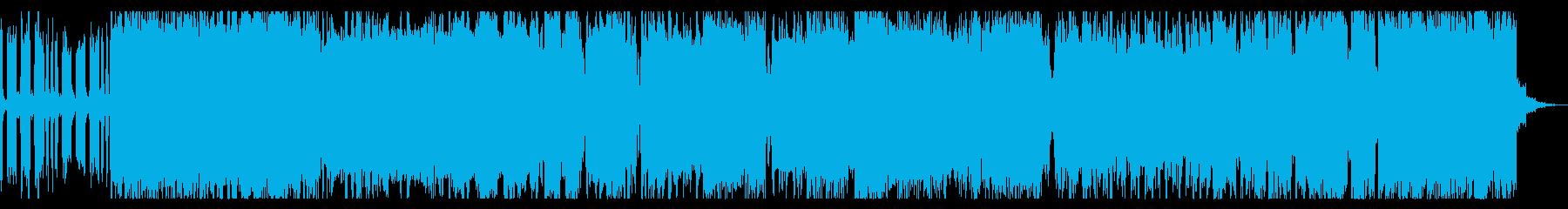 コミカル&ヘビーな3連系のチップチューンの再生済みの波形