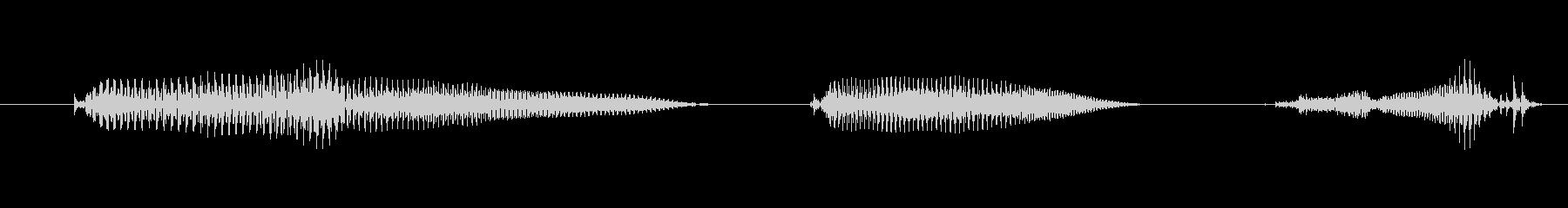 ポイント1の未再生の波形