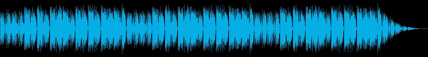 GB風アクションゲームのED曲の再生済みの波形