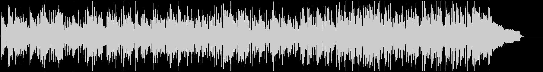 素朴なリコーダーのシンプルなボサノバの未再生の波形