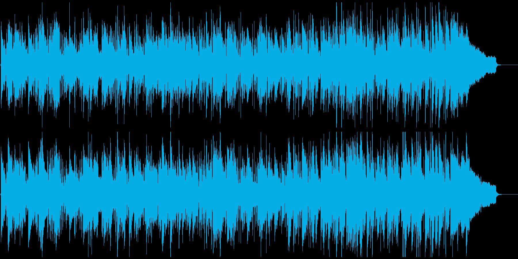 素朴なリコーダーのシンプルなボサノバの再生済みの波形
