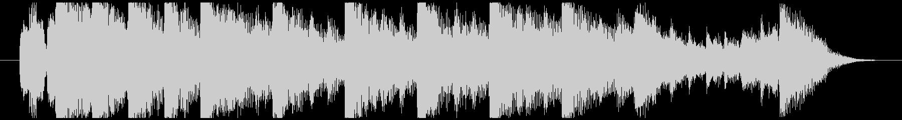 ハローウィン用のホラー曲-15秒の未再生の波形