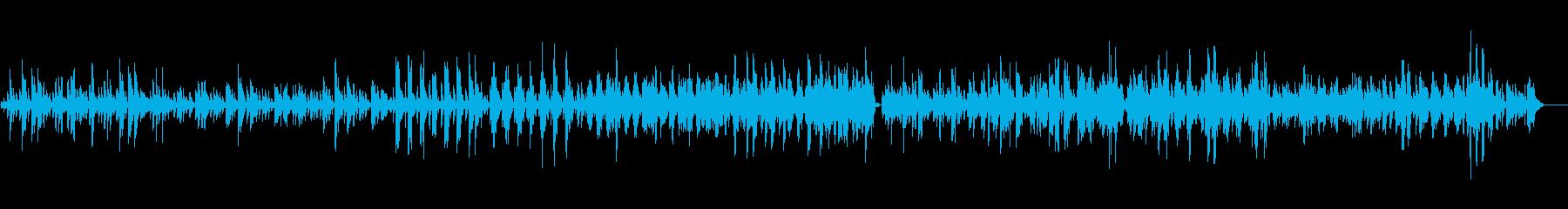 ヴィブラフォンの静かな悲しみに満ちた曲の再生済みの波形