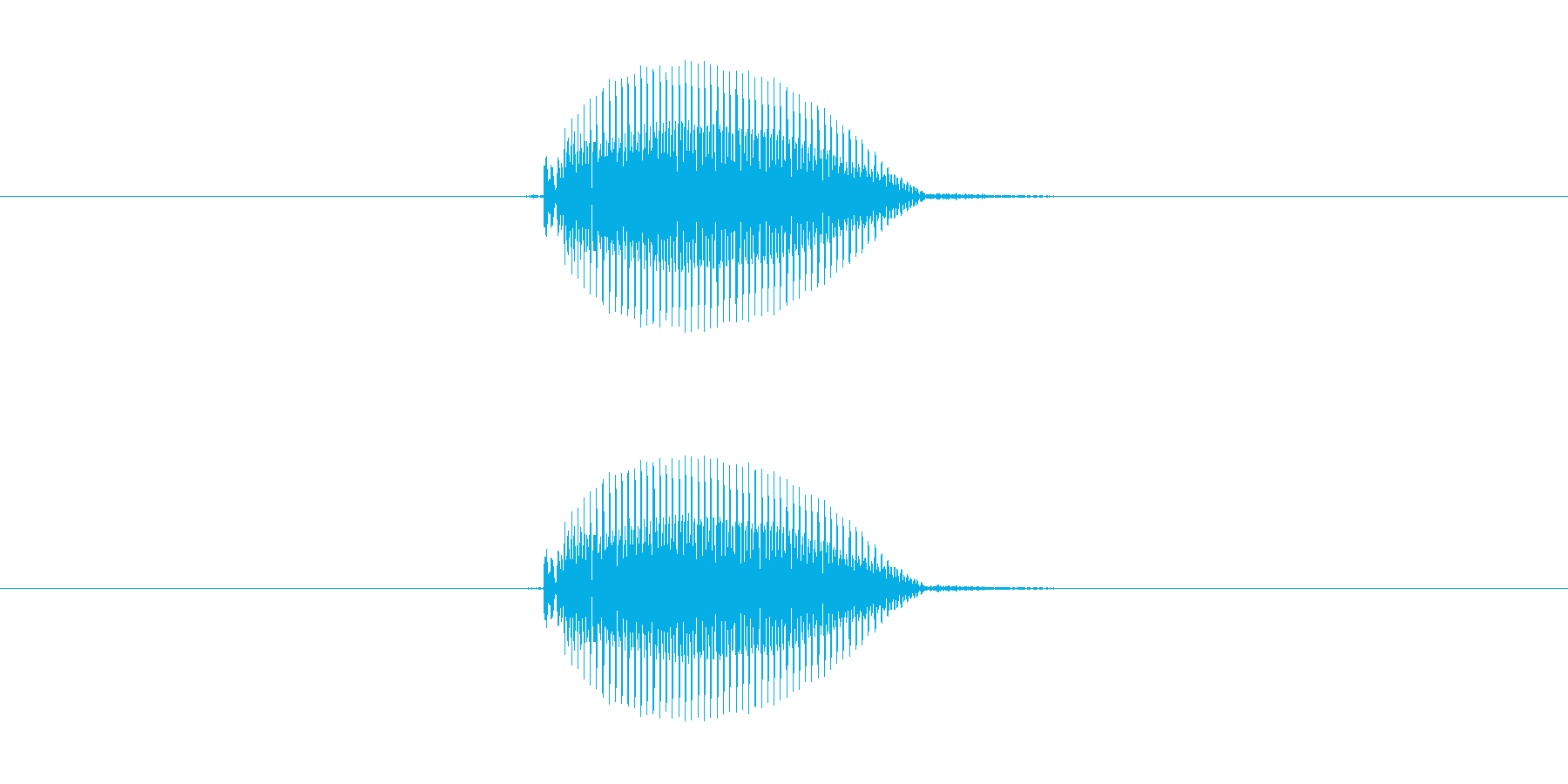 ピッ!(ぴ・ピ)の再生済みの波形