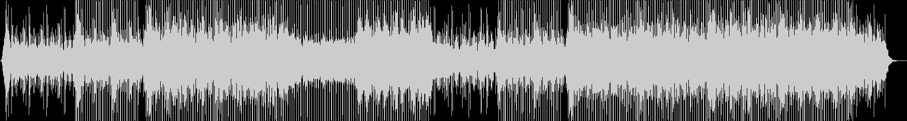 アップテンポで前向きなコーポレートBGMの未再生の波形