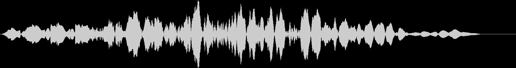 プオッ(スコアカウンター・お知らせ音)の未再生の波形