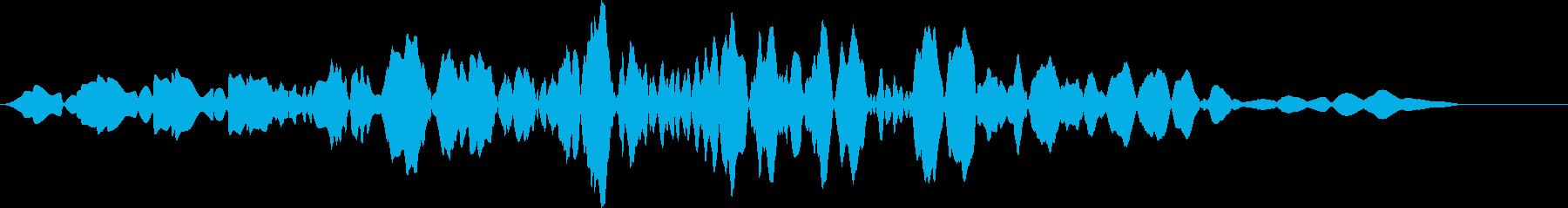 プオッ(スコアカウンター・お知らせ音)の再生済みの波形