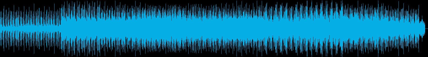 【重低音】ミドルテンポでダークな雰囲気の再生済みの波形