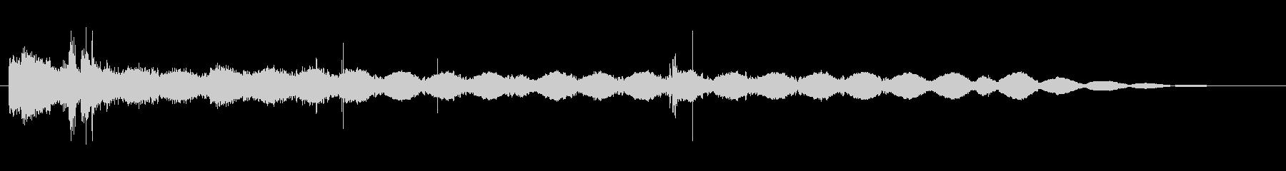 ボーンクランチングFXの未再生の波形