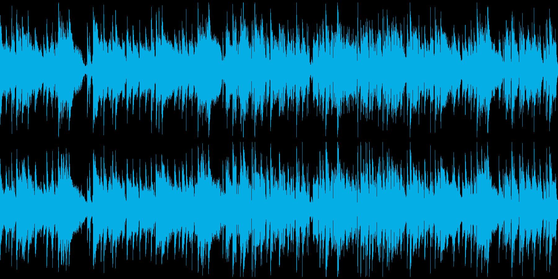 探偵、ハードボイルド・ジャズ ※ループ版の再生済みの波形