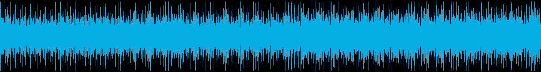 時空・空間を感じさせるシステム風BGMの再生済みの波形