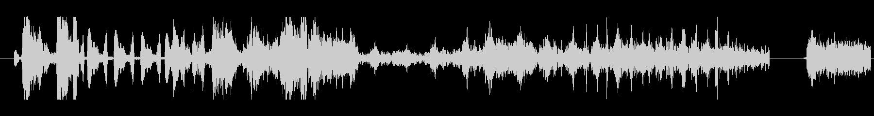 イメージ 言葉のノイズ06の未再生の波形