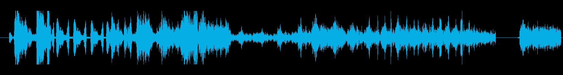 イメージ 言葉のノイズ06の再生済みの波形