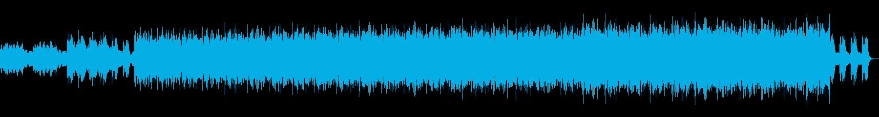 不穏・疑心・謎解き・地下ダンジョンの曲の再生済みの波形