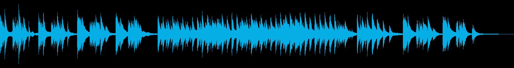 不思議で暗く、ゆったりなピアノソロの再生済みの波形