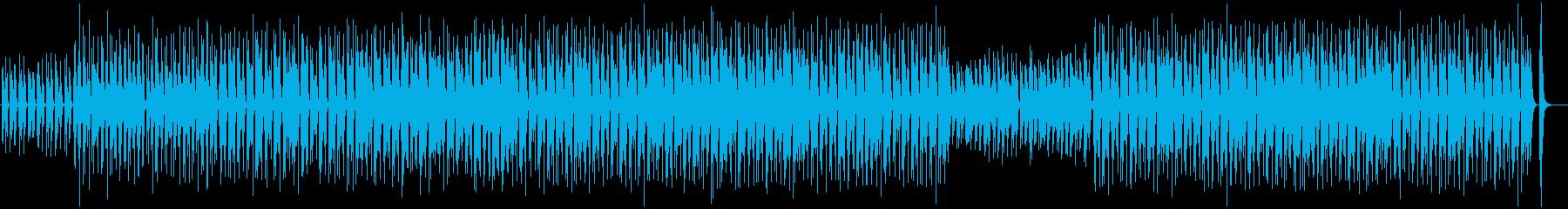 Loose, leisurely, everyday, ukulele's reproduced waveform
