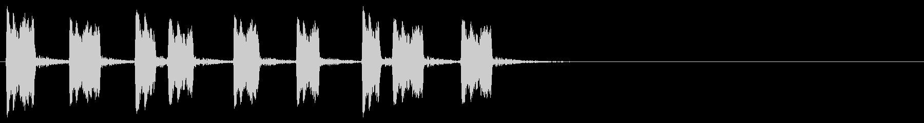 汎用31 サンバホイッスルの未再生の波形