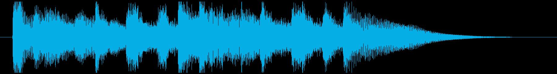 環境にやさしい事業紹介のCM曲-ジングルの再生済みの波形