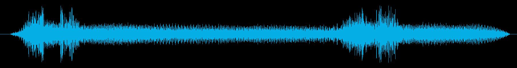 車 メルセデスAMG C63 S安...の再生済みの波形