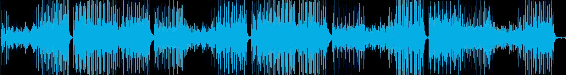 高速ラテン。レゲトンに似ています。...の再生済みの波形