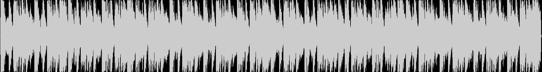 戦闘前のBGMの未再生の波形