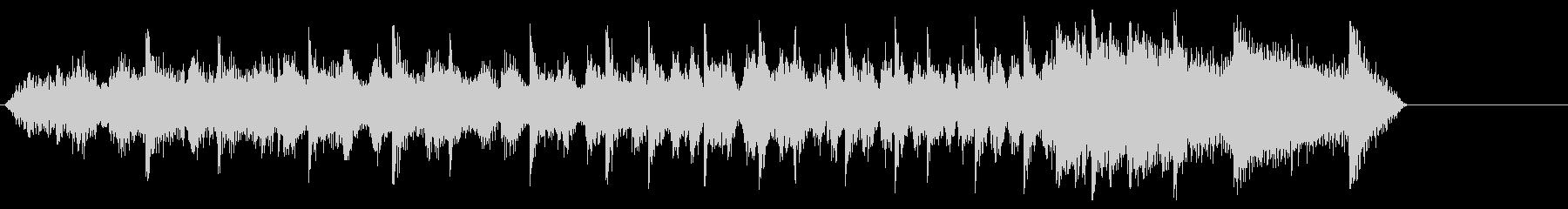 音楽効果;起動、再生、停止の長いア...の未再生の波形