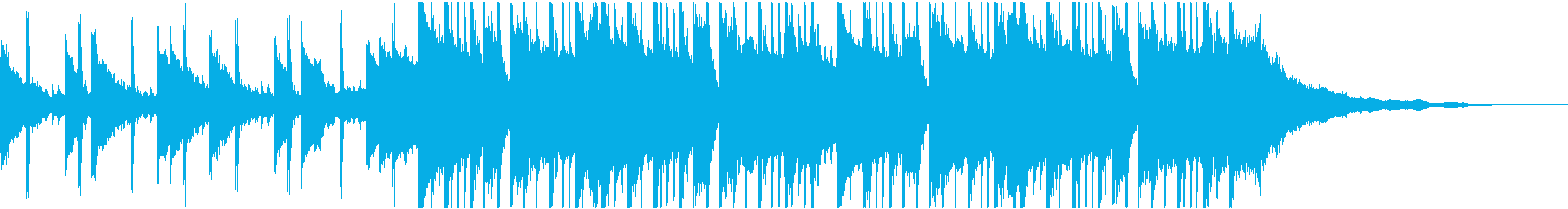ポップ テクノ ハウス ダンス プ...の再生済みの波形