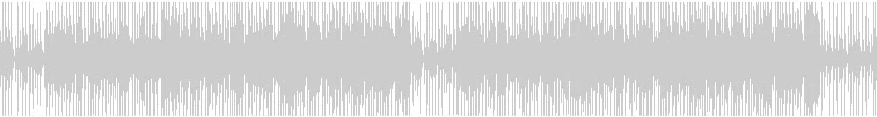 【ループ対応】シンプルなトロピカルハウスの未再生の波形