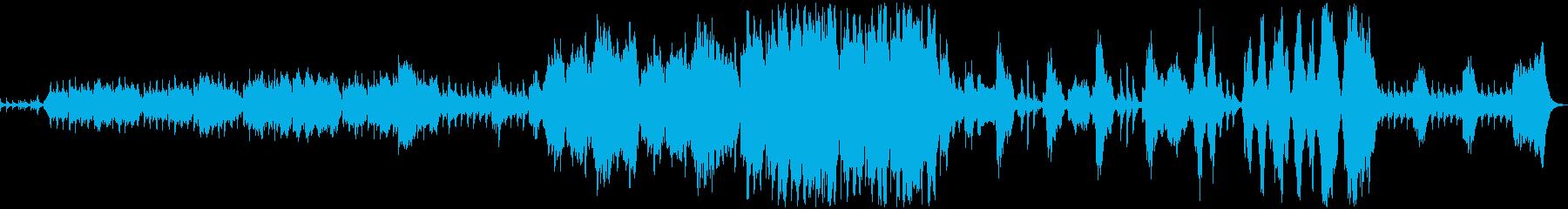 ゲーム フィールド 軍隊行進曲の再生済みの波形