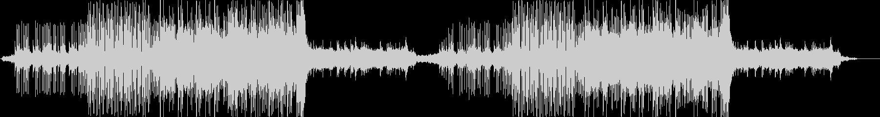 ベル音主体の謎に迫るようなミステリー系の未再生の波形