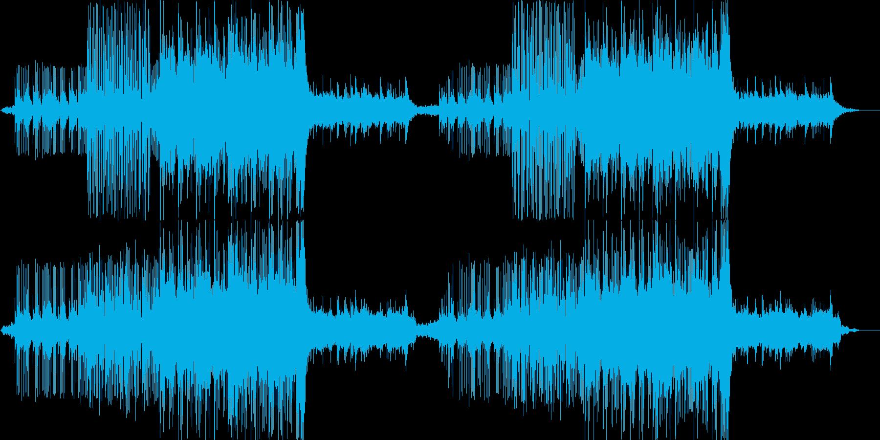 ベル音主体の謎に迫るようなミステリー系の再生済みの波形