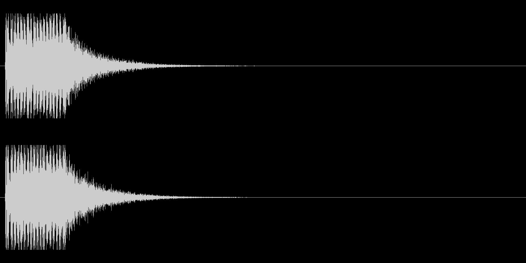 レーザー音-151-1の未再生の波形