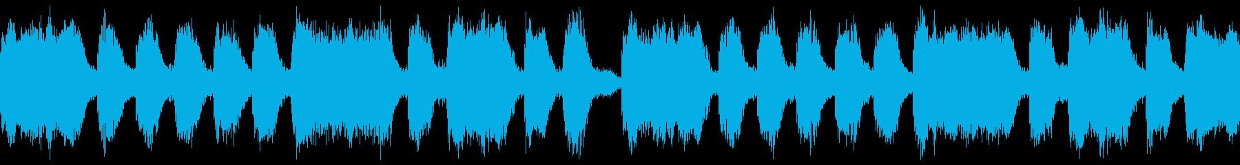 ダンス系シンセループです。の再生済みの波形