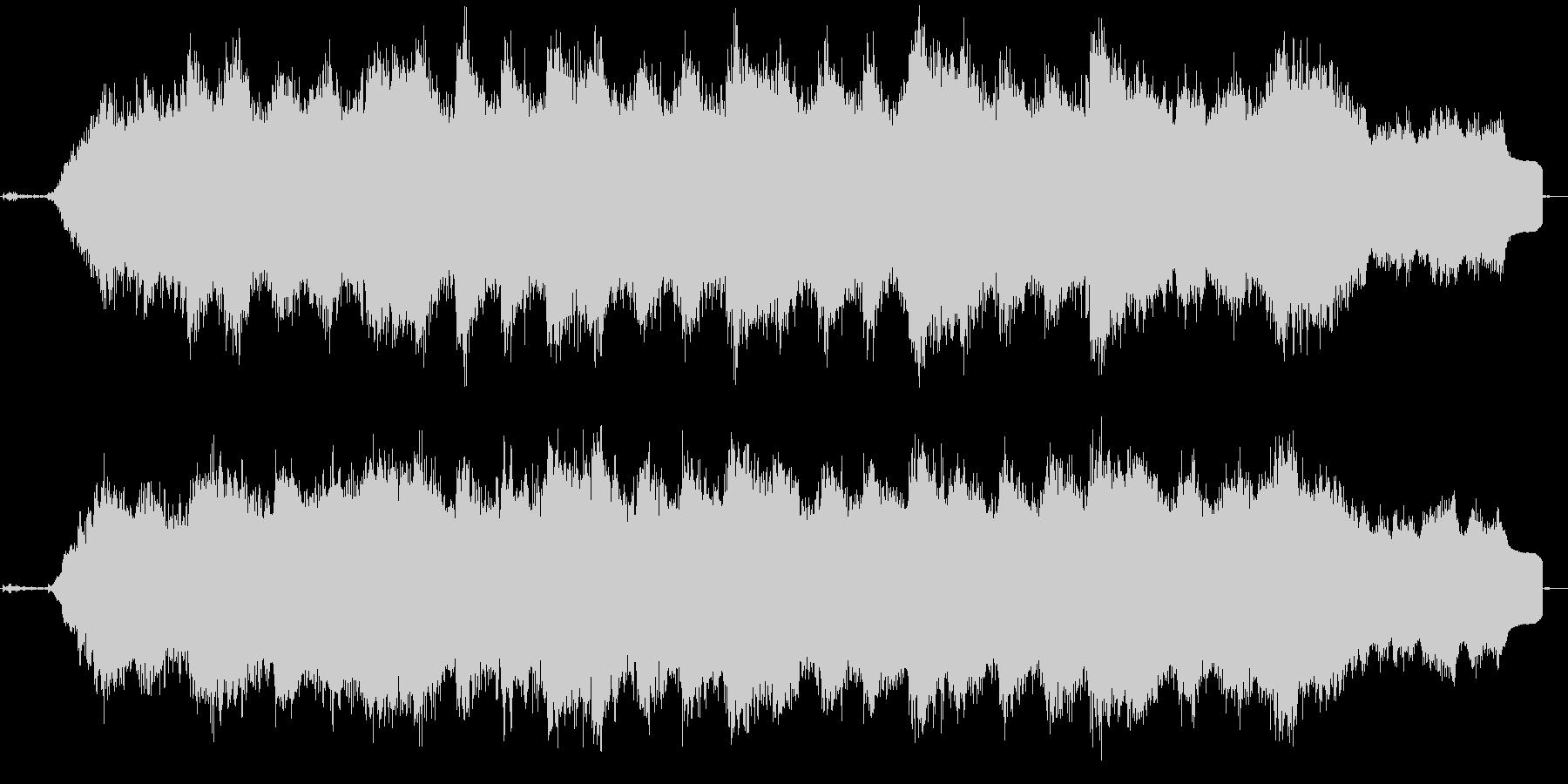 穏やかなメロディが幻想的なバラードの未再生の波形