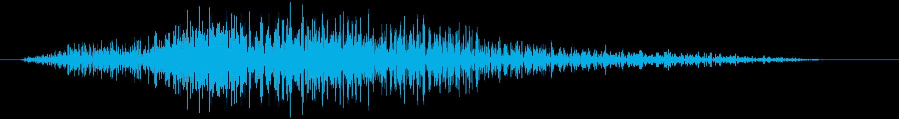 グロイニングウッドクリーク、フォリーの再生済みの波形