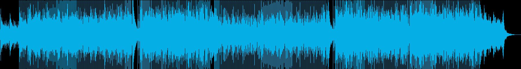 田舎・列車・旅・センチメンタル・アコギの再生済みの波形
